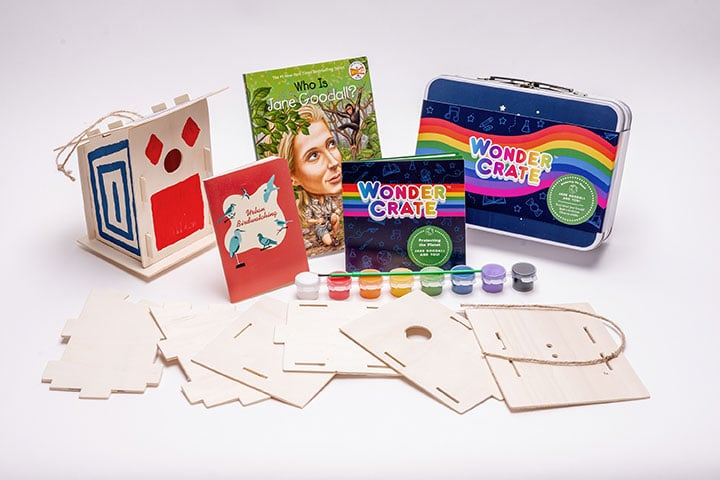 Jane Goodall Box from Wonder Crate Kids Subscription Box For Kids