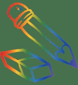 Subscription Box For Kids Pencil Icon
