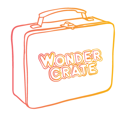 Wonder Crate Box Drawing from Wonder Crate Kids Subscription Box For Kids